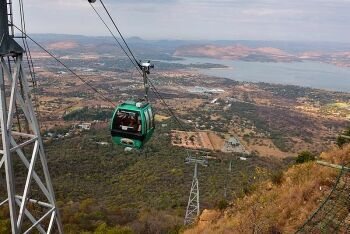 The Hartbeespoort Aerial Cableway (Harties Cableway), North West