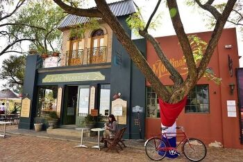 The French Toast Coffee Cafe, 2015 French Toast movie set, Hartbeespoort, North West